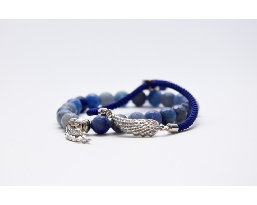 HANDMADE Náramky BLUE WING Dámske / Avanturín Modrý