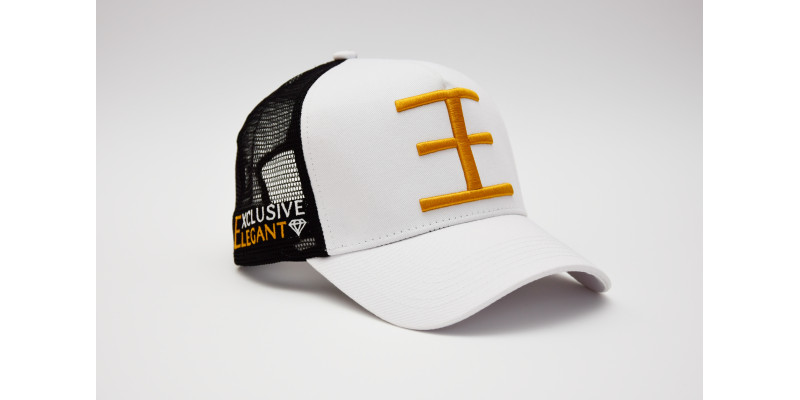 DOUBLE E Trucker / White / Black