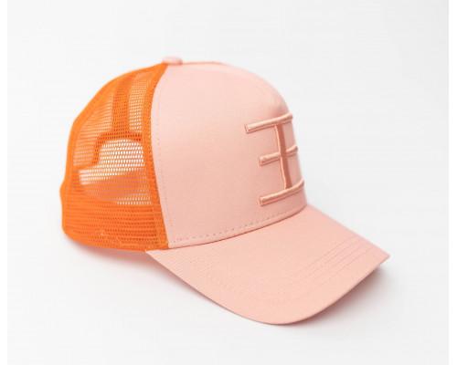 TWIN COLOR Trucker Pink/Orange