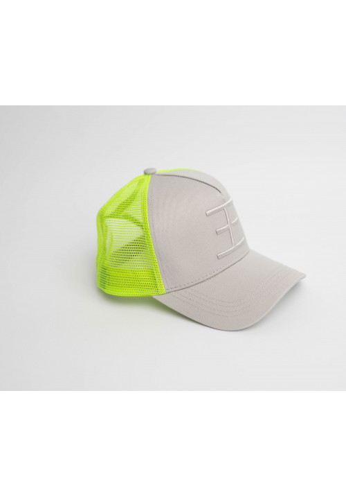 TWIN COLOR Trucker Gray/Lime